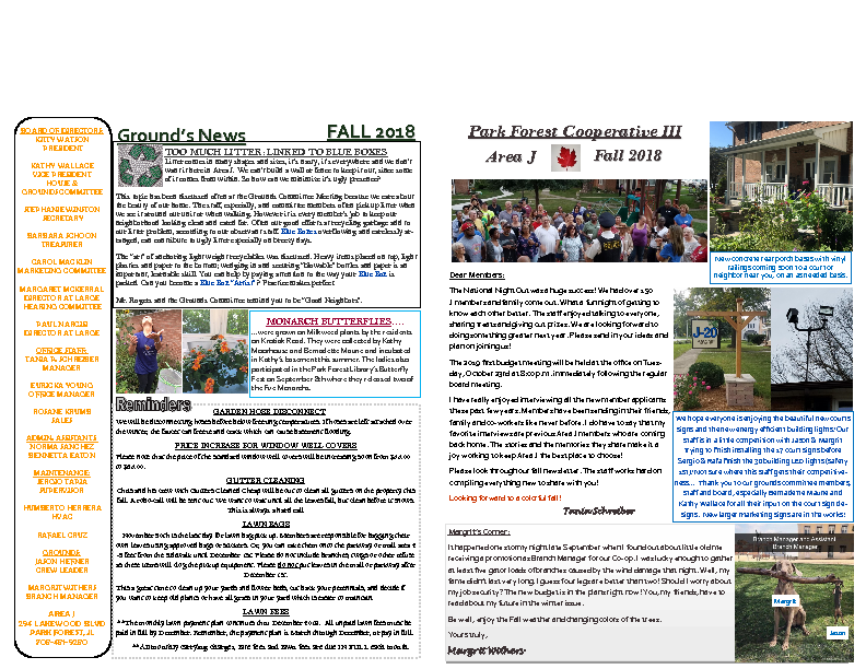 2018 FALL NEWSLETTER (2)